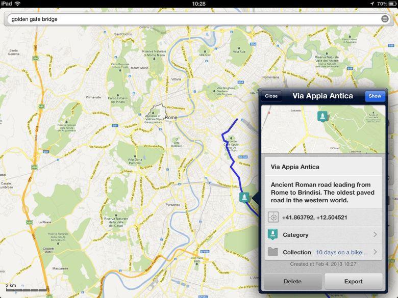 Galileo Offline Maps app